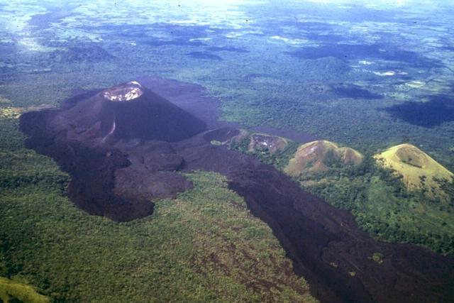 volcano boarding