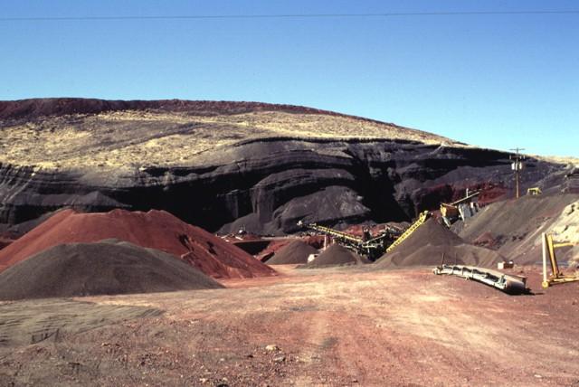 Global volcanism program black rock desert for Landscaping rocks tooele utah