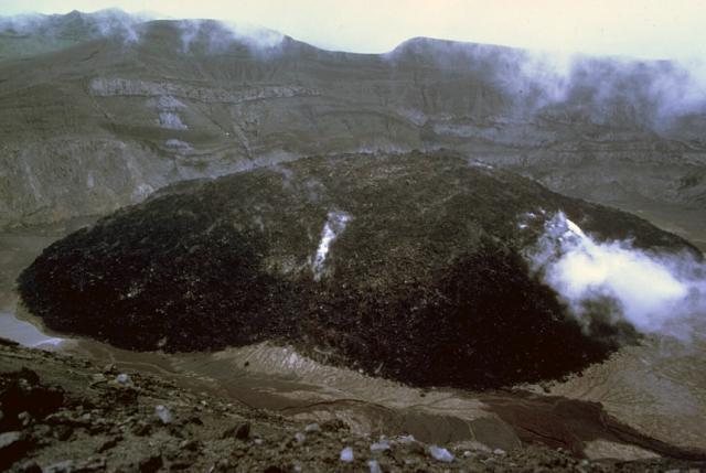 Santa Maria Volcano Diagram
