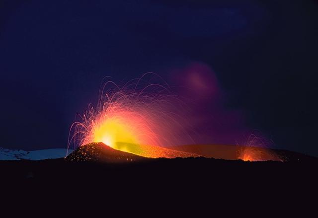 Mount Hekla Eruption 2000