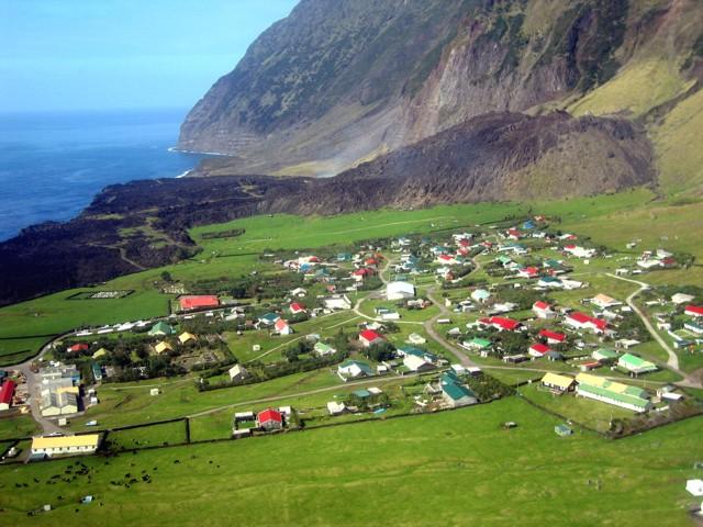 Global Volcanism Program Tristan Da Cunha - Tristan da cunha map