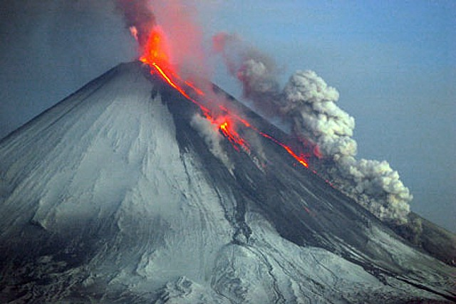 Global Volcanism Program Klyuchevskoy
