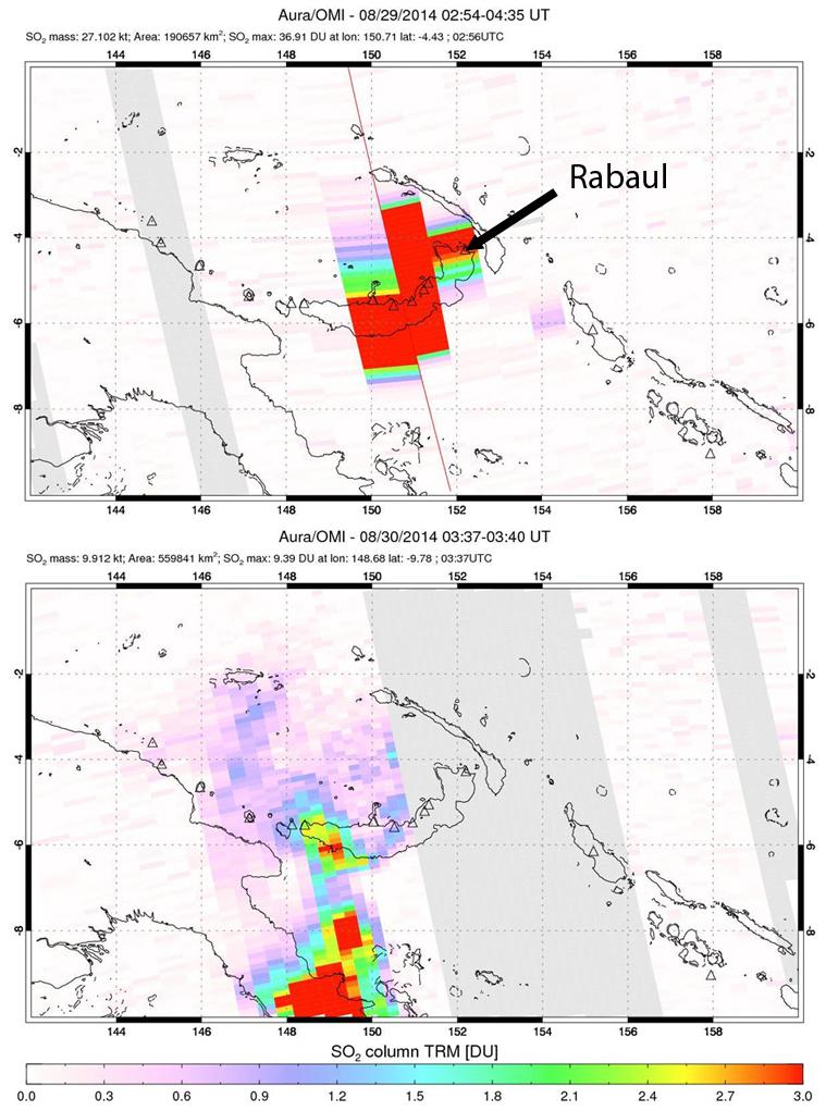 Global Volcanism Program | Rabaul