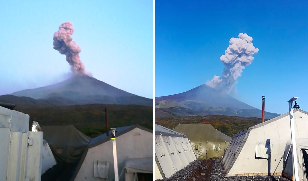 Global Volcanism Program | Report on Sarychev Peak (Russia) — June 2019