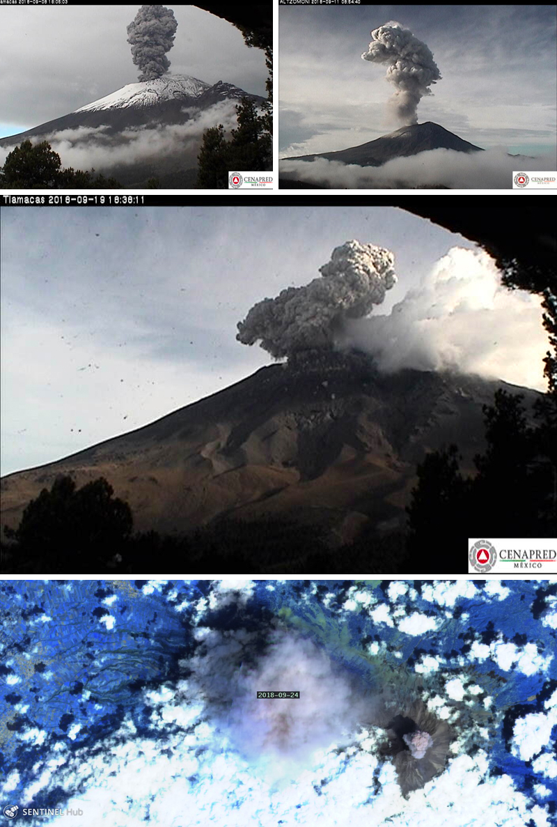 Global Volcanism Program | Popocatépetl