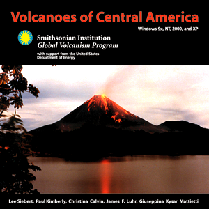 Volcanoes of Central America CD Cover