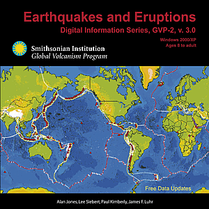 Global volcanism program resources media earthquakes and eruptions cd cover gumiabroncs Gallery
