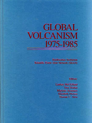 Global Volcanism 1975-1985 Book Cover