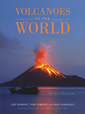 Volcanoes of the World Book Cover
