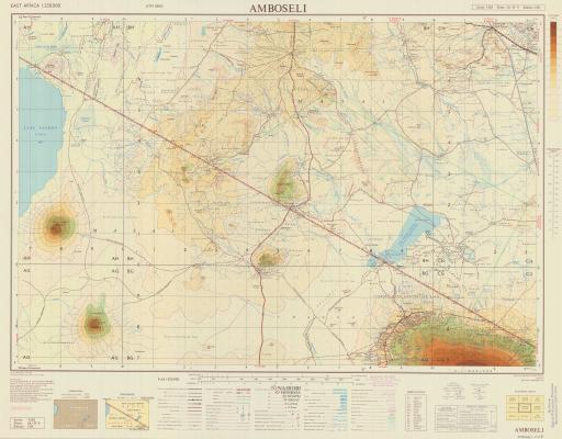 Map of Amboseli