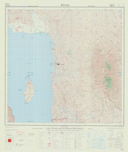 Map of Kulal
