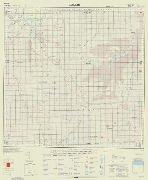 Map of Lokori
