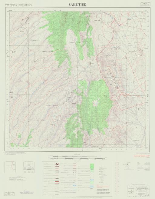 Map of Sakutiek
