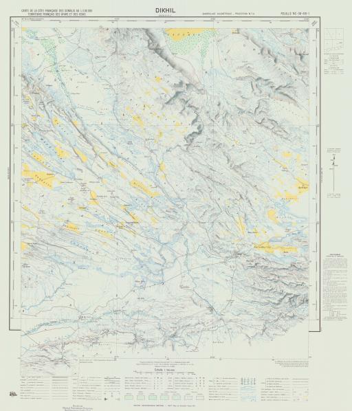 Map of Dikhil
