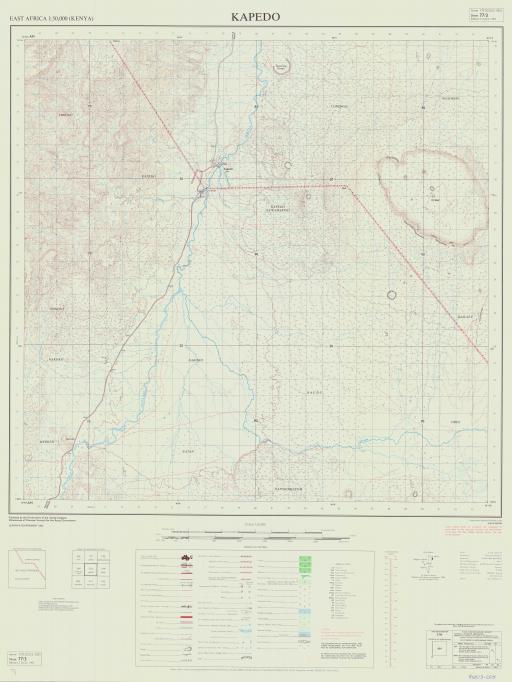 Map of Kapedo
