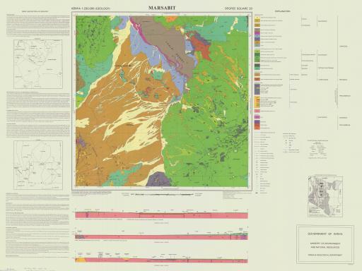 Map of Marsabit