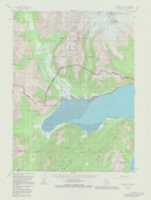 Map of Iliamna (D-1)