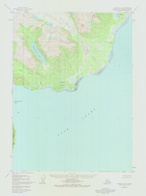 Map of Seldovia (D-8)