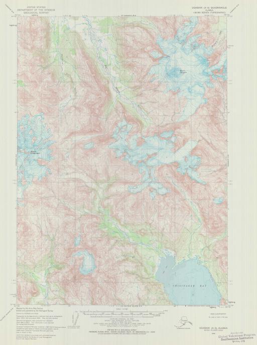Map of Ugashik (A-3)