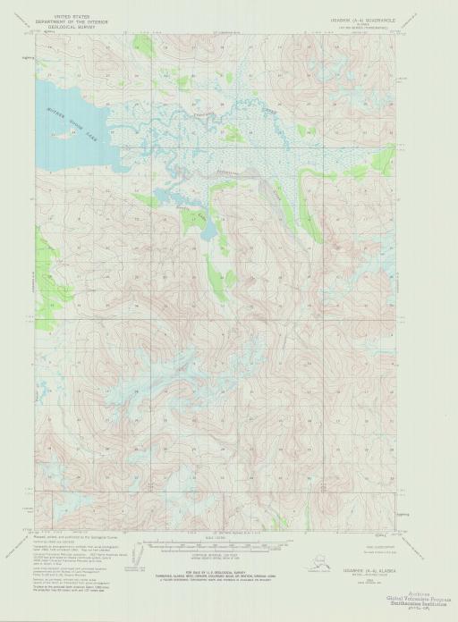 Map of Ugashik (A-4)
