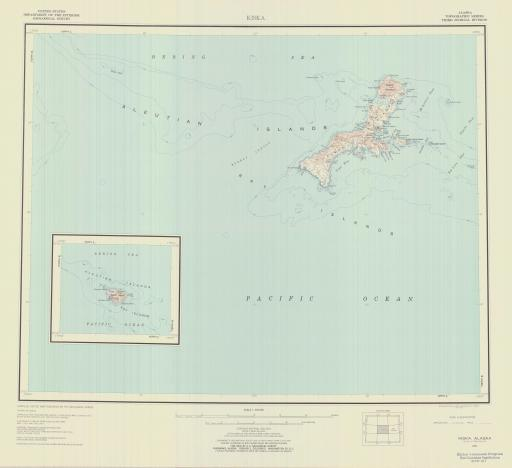 Map of Kiska