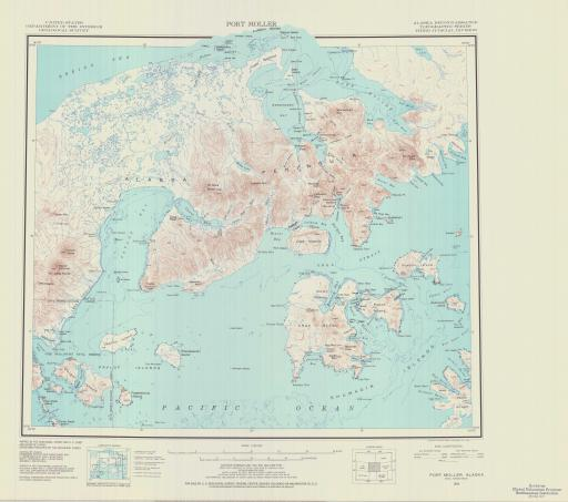 Map of Port Moller
