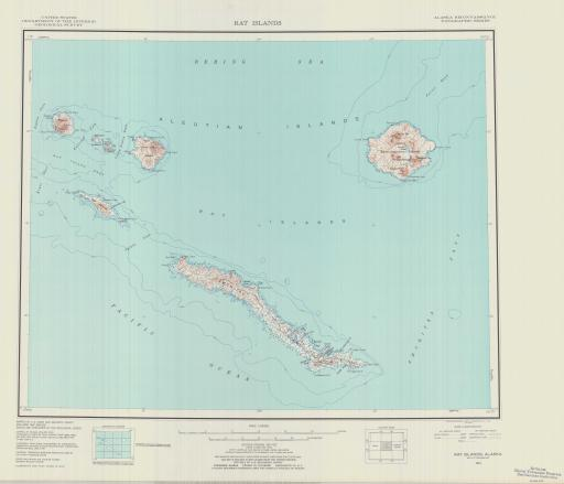 Map of Rat Islands