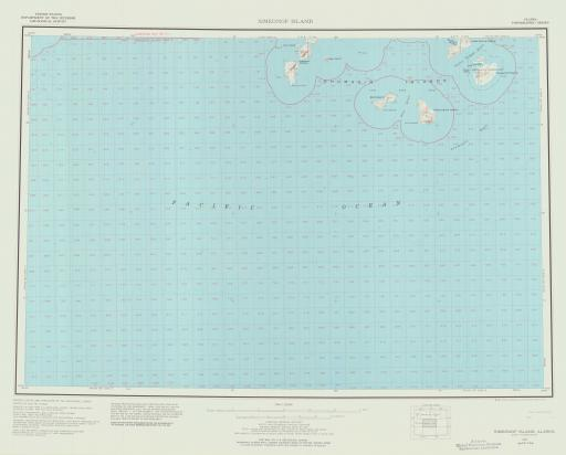 Map of Simeonof Island