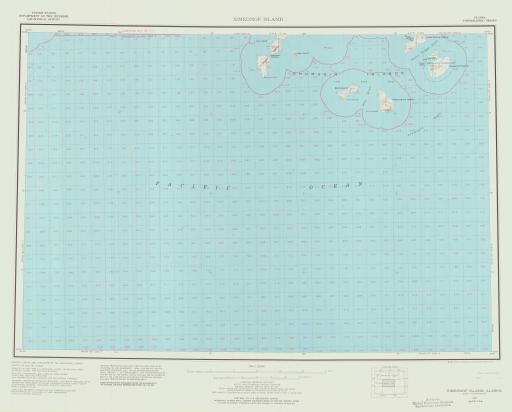 Map of Simeonof Island