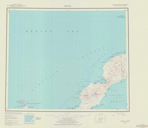 Map of Umnak