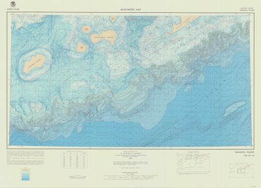 Map of Samalga Island