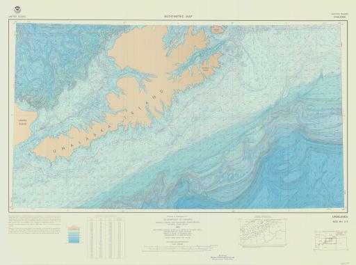 Map of Unalaska
