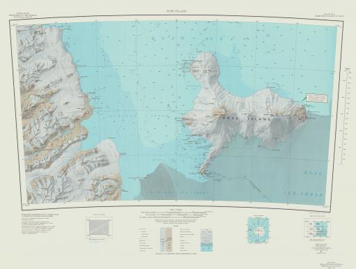 Map of Ross Island