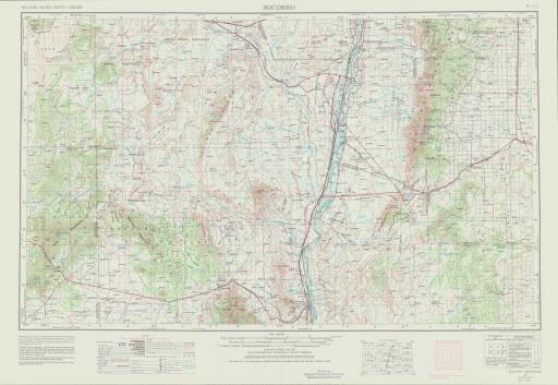 Map of Socorro