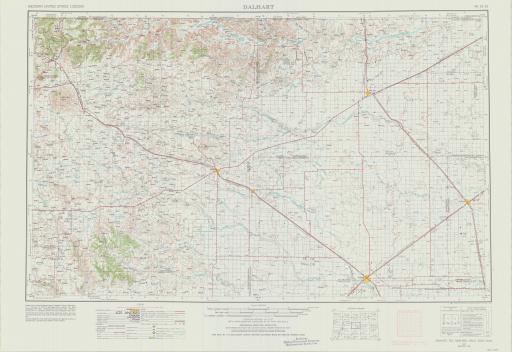 Map of Dalhart