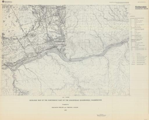 Map of Goldendale