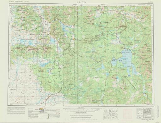 Map of Ashton