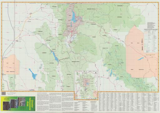 Map of Greater Yellowstone Area