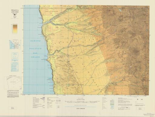 Map of Pisagua