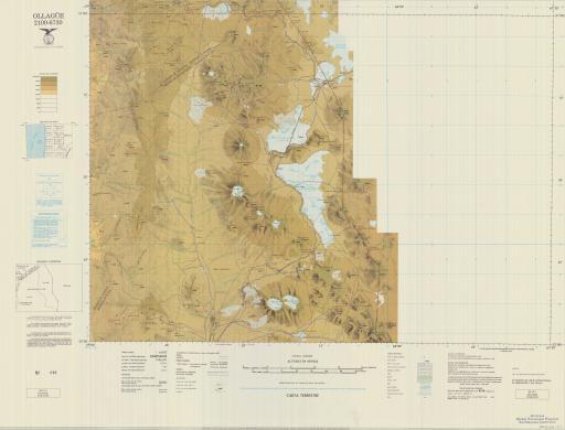 Map of Ollague