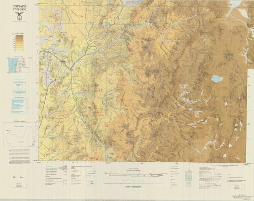 Map of Copiapo