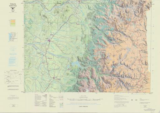 Map of Talca