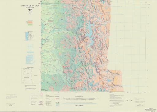Map of Laguna de La Laja