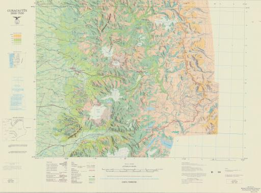 Map of Pucon