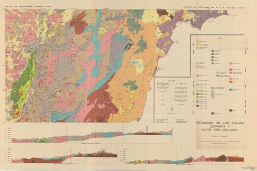Map of Geol de Copiapo & Ojos del Salado (Atacama)