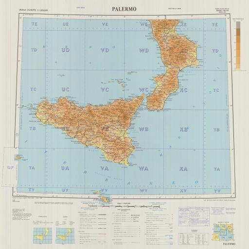 Map of Palermo