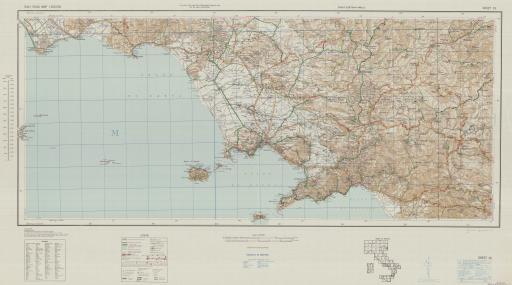 Map of Italy Road Map