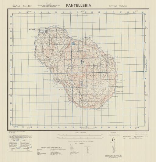 Map of Pantelleria