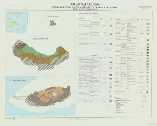 Map of Morfo-Pedologico, Santa Maria/Santa Cruz/Cristobal