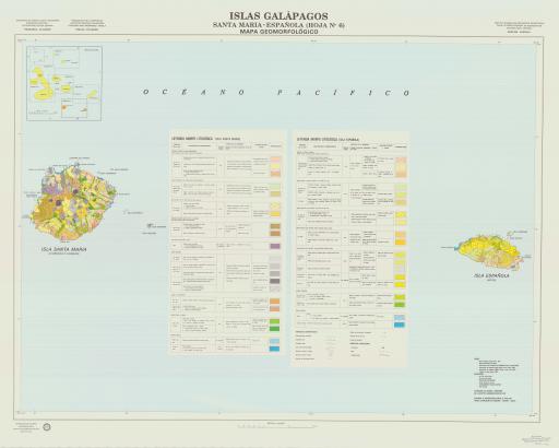 Map of Santa Maria & Espanola